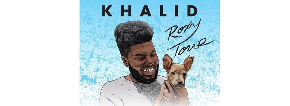 Khalid Announces Roxy Tour for 2018