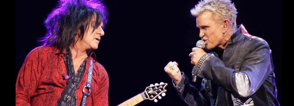 Billy Idol, Steve Stevens To Embark On Acoustic Dual Tour This Spring