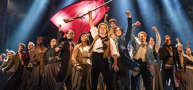 Les Miserables in LA Headlines Friday Onsales