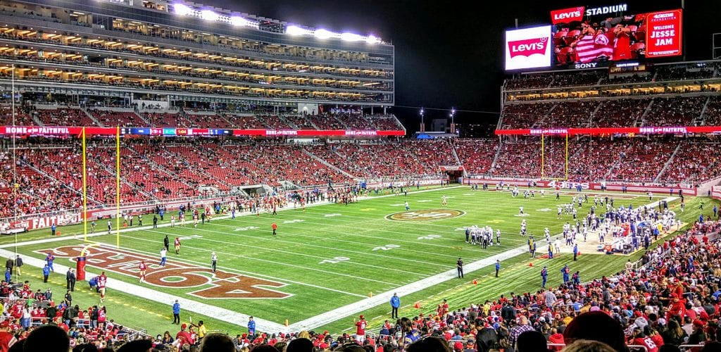 Tonight's 49ers vs. Rams Tickets Going For a Fraction of Face Value