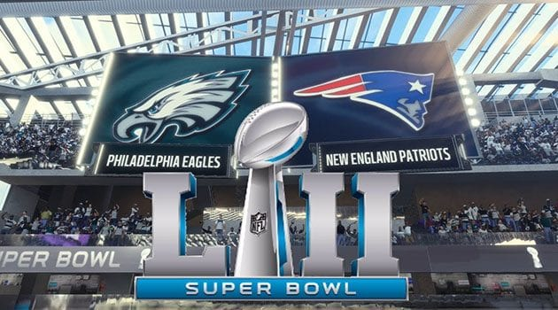 Super Bowl LII Dominates February Top 40 Best-Selling Events