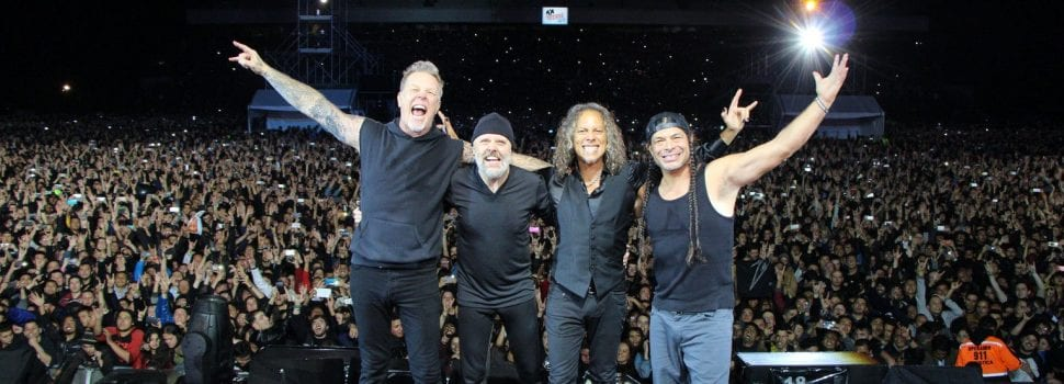Metallica Breaks Multiple Attendance Records Across Country