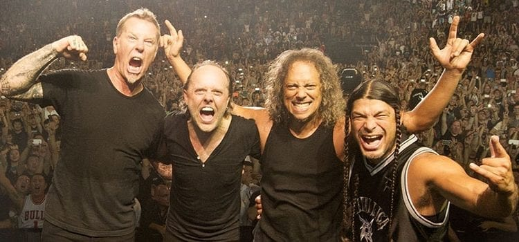 Metallica Rules the Roost on Tuesday Best-Seller Rundown