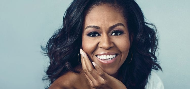Michelle Obama Takes No. 1 Spot On Monday Best-Sellers