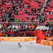 Despite Sellout Claims, Olympics Attendance Appears Sparce