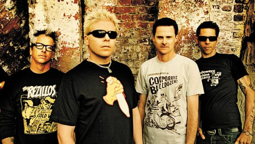 The Offspring Performs Virtual Concert Inside 'World of Tanks'