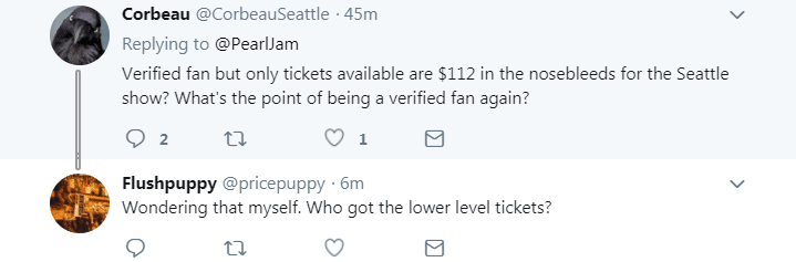 Pearl Jam Verified Fan Experience Predictably Poor for Fans