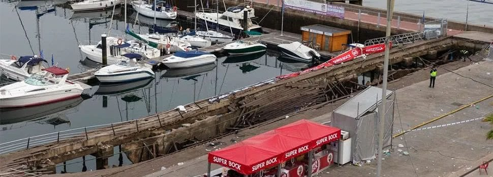 Hundreds Injured After Platform Collapses At Spain's O Marisquiño Festival