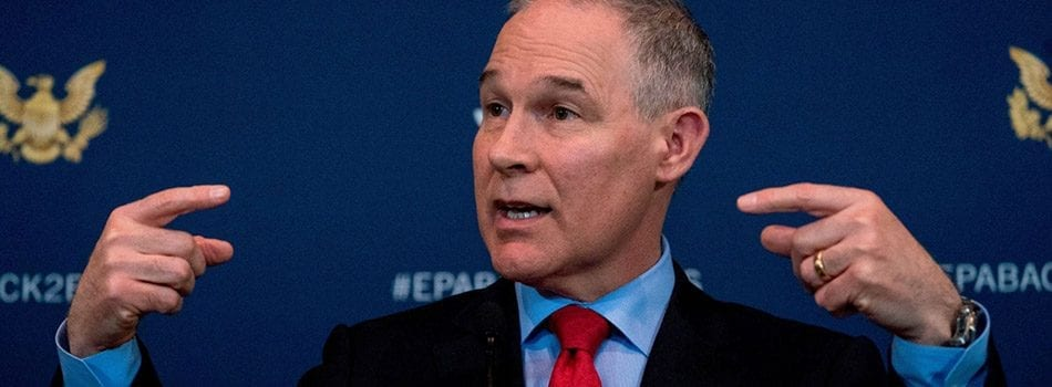 Held Back Tickets at Core of Scandal for EPA's Pruitt