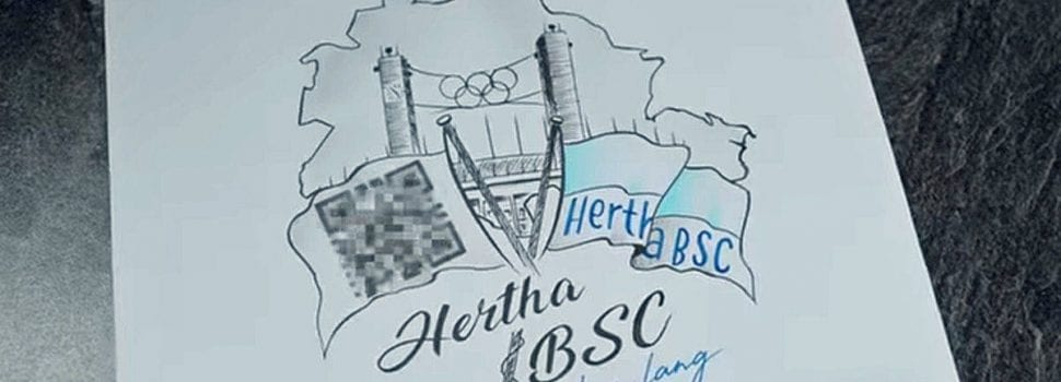 Hertha Berlin Superfan Wins A Lifetime Season Ticket As A Tattoo