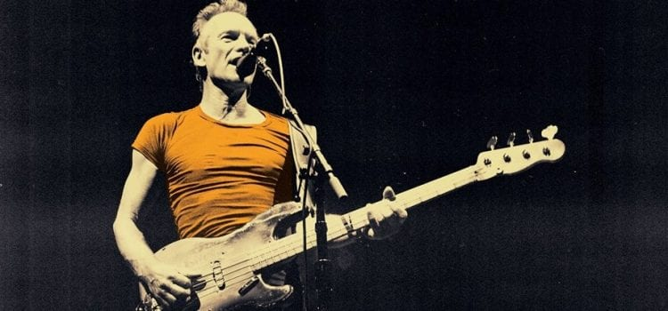 Sting Reveals 2020 Summer Las Vegas Residency