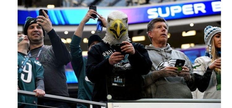 Philadelphia Fans Swarm Super Bowl LII, According to Sales Data