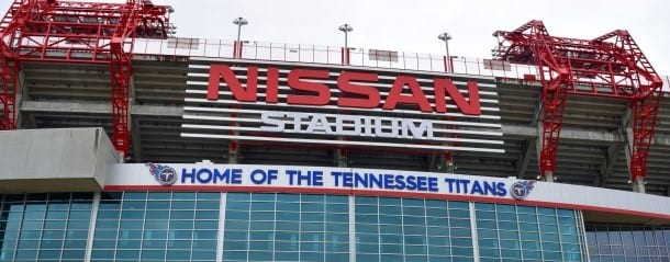 Part of Nissan Stadium Catches On Fire During Colts-Titan Game