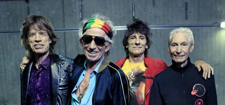 The Rolling Stones Climb to Number One Spot On Mid-Week Best-Sellers