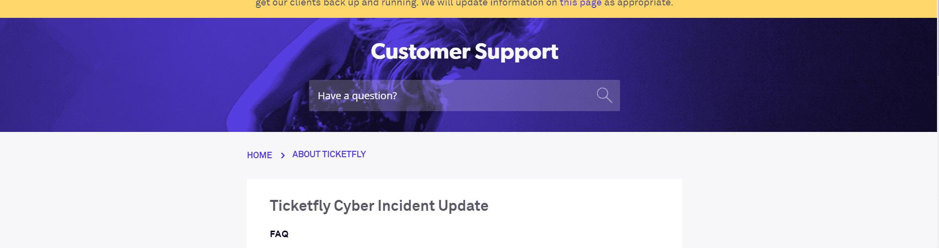 Ticketfly Hack: Website Still Down; Customer Data Exposed in Breach