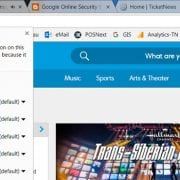 Is Ticketmaster's Non-Secure Homepage a Reason for Consumer Concern?