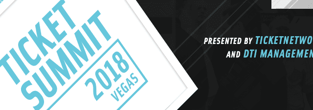 Join us for Ticket Summit 2018 at Caesars Palace!