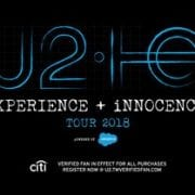U2 Announce New Album and the eXPERIENCE + iNNOCENCE Tour 2018