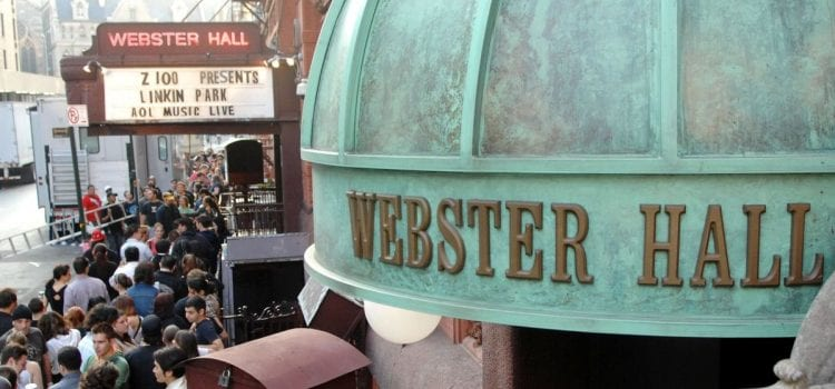 NYC's Historic Webster Hall To Reopen With Concert From Jay-Z