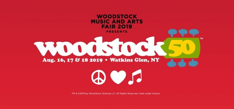 Official Woodstock 50-Year Anniversary Announced For This Summer