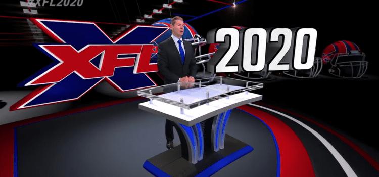 XFL Reveals Inaugural Schedule For 2020 Season